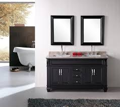 simple bathroom vanity ideas rectangle long modern wall mirror