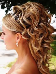 hair styles for thining hair on crown wedding hairstyles ideas side ponytail curly half up medium