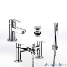 modern favour chrome bathroom taps sink basin mixer bath filler