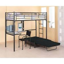 Bunk Bed With Futon On Bottom Metal Bunk Bed Futon Futon Wood Post Metal Bunk Bed Futon