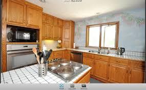 kitchen countertop ideas for oak cabinets oak cabinets what countertop and backsplash