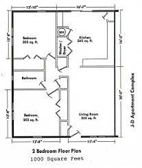 Bedroom Floor Plan 68 2 Bedroom Floor Plans Two Bedroom Contemporary Swawou Org