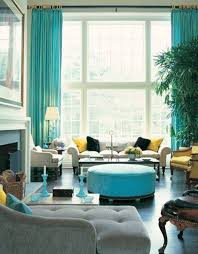 Teal Living Room Curtains 10 Ideas For How To Decorate Your Living Room With Turquoise