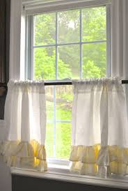 Linen Cafe Curtains The Cafe Curtains Home Design Ideas