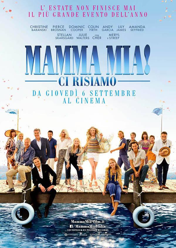 Locandina Mamma Mia! Ci risiamo