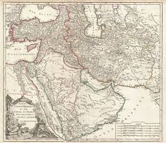 Map Of Persian Gulf Old Maps Of Persia