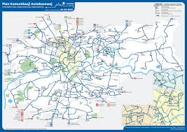Usa Rail Network Map by Krakow Tram And Public Transport Maps Krakowcard Com