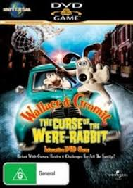 rabbit dvds wallace and gromit the curse of the were rabbit dvd by