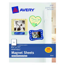 Best Sheet Brands On Amazon Amazon Com Avery Magnet Sheets 8 5 X 11 Inches White 03270