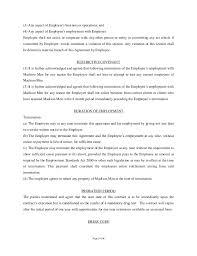 employment contract usa employment agreement employment agreement
