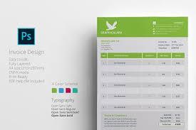 graphic design invoice template creative invoice 50 creative