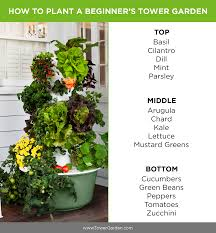 How To Build A Vertical Hydroponic Garden Beginner Tower Garden Planting Plan Aeroponic No Dirt Grow