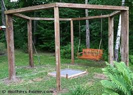 Make A Firepit Pit Swing Set As Seen On Pinterest S Home