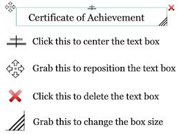 borderless certificate templates award certificate maker print personalized certificates