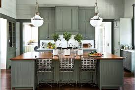 colored cabinets for kitchen 7 paint colors we re loving for kitchen cabinets in 2021