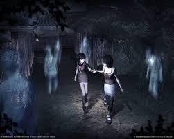 creepy crimson sky halloween background halloween horror video game roundup day 5 fatal frame and clock