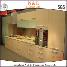 particle board kitchen cabinets china melamine paper mfc particle board kitchen cabinet china