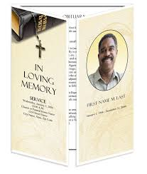 funeral programs template funeral program templates gatefold bible memories