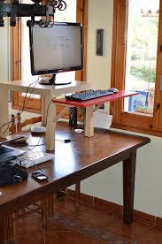 Diy Stand Up Desk Ikea Adjustable Sit Stand Desk 9 Ways To Build Guide Patterns