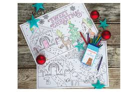 printable christmas pages for coloring the cutest coloring pages to keep kids occupied until christmas