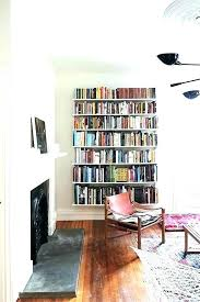 Small Space Shelving Ideas Create A Small Library Within A Long