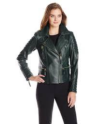 womens motorcycle jacket vince camuto women u0027s leather moto jacket at amazon women u0027s coats shop