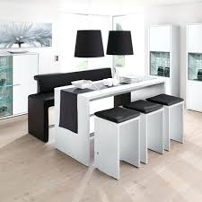 table blanche cuisine design d intérieur table haute blanc cuisine design pas cher