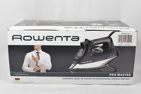 Rowenta Effective Comfort Rowenta Dw8156 1800 Watt Promaster Steam Iron With Platinium