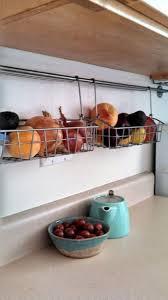 kitchen storage pot rack under cabinet kitchen storage ideas