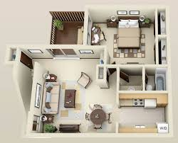 Wonderful  Bedroom Apartment Interior Design Ideas  Bedroom - Small one bedroom apartment designs