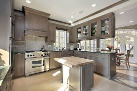 Kitchen Cabinets Staining by Grey Stained Kitchen Cabinets Inspirations With Cabinet Image Of