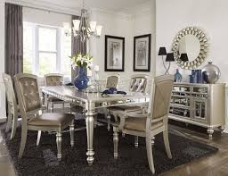 dining room sets coleman furniture orsina silver extendable dining room set