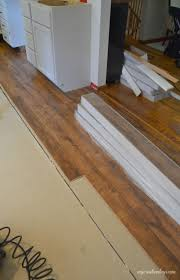 How To Start Installing Laminate Flooring Kitchen Makeover Laminate Flooring My Creative Days