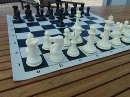 amazon com ultra cool chess set tournament chess set with
