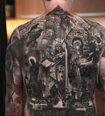 religious back tattoos religious ideas for guys