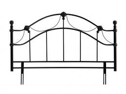 elegant metal headboards for double bed attractive clubnoma com