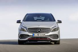 mercedes 2016 2016 mercedes benz a class with facelift official photos