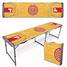 custom beer pong tables custom beer pong table basketball court pong university
