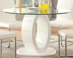 Furniture Of Kitchen Amazon Com Furniture Of America Quezon Round Glass Top Pedestal