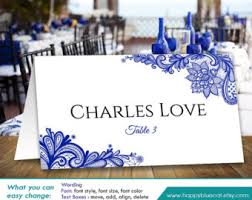 placecard template etsy