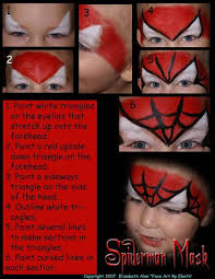 coloring pages trendy spiderman face paint painting paintings