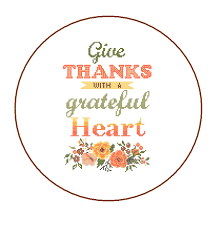 modern thanksgiving cross stitch pattern give thanks with a