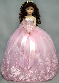 quinceanera dolls doll in pink dress quinceanera dolls pink dresses