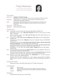 Sample French Resume by French Resume Free Resume Example And Writing Download