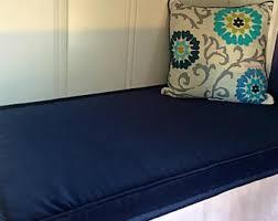 velvet bench cushion etsy