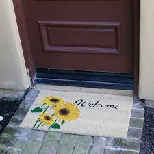 Welcome Doormats Welcome Doormats U2014flowered Options That Are Perfect For Spring