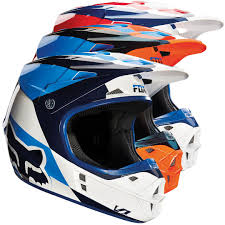 Fox V1 Mako Motocross Helmet Buy Cheap Fc Moto