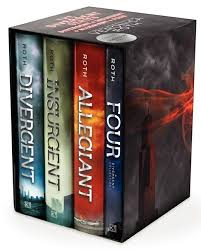 divergent series four book box set roth hardcover