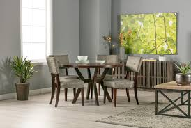 macie round dining table living spaces
