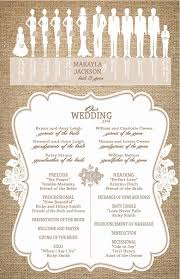 how to create a wedding program 150 best wedding programs images on wedding stuff